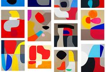 Stephen Ormandy / vibration and rhythm, the play of line creating positive and negative space, searching for tonal balance through contrast or harmony, while developing chroma relationships that hug or repel.