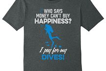Scuba Diving T Shirts / What diver doesn't love scuba diving tshirts? Perfect for hanging around town or going out on that dive boat. Show your love of diving with these tees.