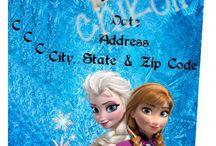 Bella Frozen party ideals  / by Nikki Remus