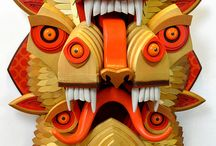 AJ Fosik / Wooden sculptures