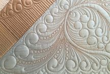 feathered quilting