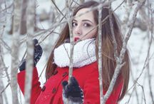Shooting in the snow ❄️ By ➢: Daniela M. / Shooting in the snow ❄️   Foto sulla neve ❤  ☃  ❄ Daniela ℳassa