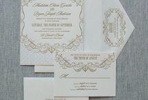 """Wedding Invitation - """"Greenwich"""""""