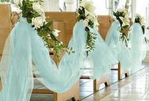 Final Wedding Plans : church decorations / by Sylvia Anna