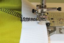 how to sew in elastic