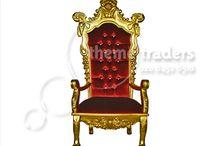 wedding thrones