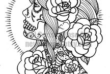 coloring pages / by Jessica Bytendorp