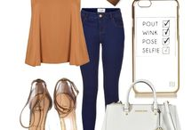 Mustard top outfits