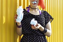 Cotton Candy Fun / Model Dead N Drippin Photographer Kelly West Photography