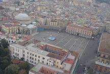 NAPOLI vista dall'alto / FOTO DI NAPOLI AEREE