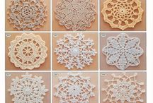 Snowflakes / craft, home decoration, ideas for kids