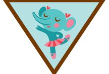 Brownies - Dancer / Requirements for Earning the Brownie Dance Badge-- Step 1: Warm up and get moving. Step 2: Try a new dance. Step 3: Take to the floor like a dancer. Step 4: Make up your own dance. Step 5: Show your moves! / by Girl Scouts SU24