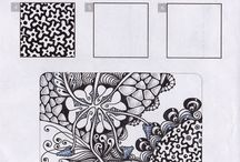zentangle designs and art pieces
