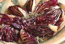 "Recipe Ideas: Radicchio / Each week I play ""What's This Wednesday"" with our community to discover new ways to prepare and eat healthy foods. Come join the fun at http://facebook.com/KristenYarkerNutrition #radicchio #recipes"