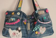 Bag / Old jeans