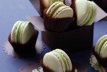 Macarons / Ze zijn allemaal mooi en lekker. Zal ik ze ooit allemaal maken??