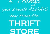Thrifting Tips / Advice from experts on how to make the most of thrifting!