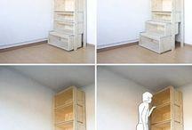 szuflady jako schody