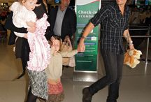 Keith and Family arrive in Sydney