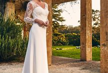Bertossi Brides - Paddington Weddings - Wedding Dresses / Brisbane-based bridal designer, Anne Bertossi, has an innate sense of style which shows clearly in each and every gown individually crafted with her bride's unique attributes in mind. Fabric is always her inspiration for her bridal collections so Anne regularly travels to Paris and Milan to source only the best laces and silks to create her gowns. Bertossi Brides for Paddington Weddings.