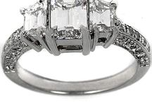 Diamonds are a Girls Best Friend / especially emerald cut diamonds (; / by Katie Davis