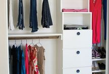 closet makeover / by Jackie Speed