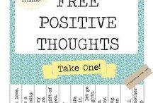 Share positive thinking