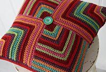 Almofadas - crochet