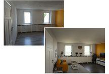 """leere Wohnräume / """"Ein leerer Raum ist wie eine leere Leinwand."""" Niemand lebt in leeren Räumen. Erst die Einrichtung und die Gestaltung verleihen einer Immobilie Funktion und Charakter und lösen Emotionen beim Betrachter aus. Zeigen Sie das Potential, das in Ihrer Immobilie steckt."""