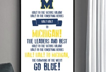 Go blue / by Mallory Williams