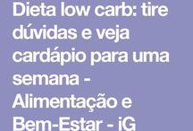 Dicas e dietas Low carb