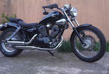 modifications 2 roues / quelques réalisations : honda cx 500 , honda shadow 125 & yamaha 125 virago