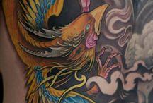 Tatuagens de Fênix / Você está querendo fazer uma tattoo de fênix e não tem ideia por onde começar? Veja nossa seleção!