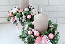 Свечи... Хвоя... Рождество