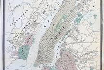 """New York City Maps & Views / New York City was once called, """"New Amsterdam"""".  These maps show the development of the city through time."""
