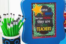Superhero teachers