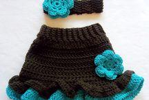 crochet skirt/szoknya/