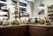 Boulangerie Traditionnelle Jan Bussing / Inrichting Bakkerij  Van Vollenhovenstraat Rotterdam