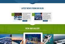 Marina Website Designs