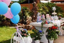 Christenings & Kids Party Ideas / Ιδέες για τη βάπτιση, τη δεξίωση της βάπτισης και το παιδικό πάρτυ