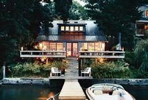 Dream home/cabins / by Michelle Michaelsen DuBay
