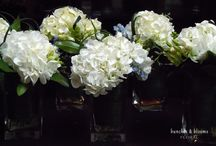 Wedding Venue Flowers / Wedding Ceremony and Reception Venue Flowers