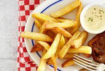 Zelfgemaakte frites