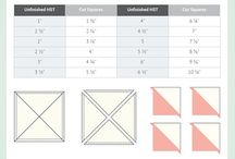 half square triangle cheat sheet
