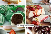 Dessert Recipe Ideas / Dessert recipes of all kinds -- some healthy, some specialty diet, and some just plain decadent.