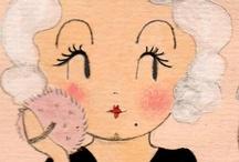 illustration curious pip