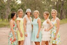 Dress the girls. / by It's a Shore Thing Wedding & Event Planning