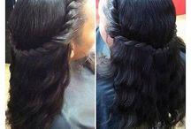 Cheveux tressés afro-américain
