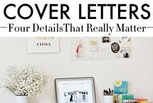 Crafting a Cover Letter / A cover letter distinguishes you from others, so show some personality! It should do more than summarize your résumé. Here are some tips on making yours stand out.