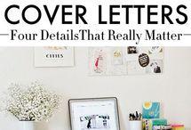 Cover Letter Writing / by BMCC Center for Career Development